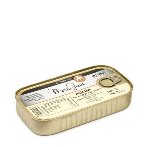 aguja en aceite de oliva