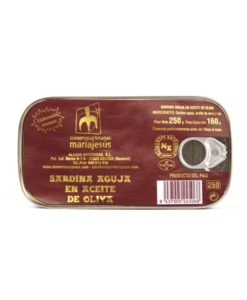 Lata sardina aguja en aceite de oliva